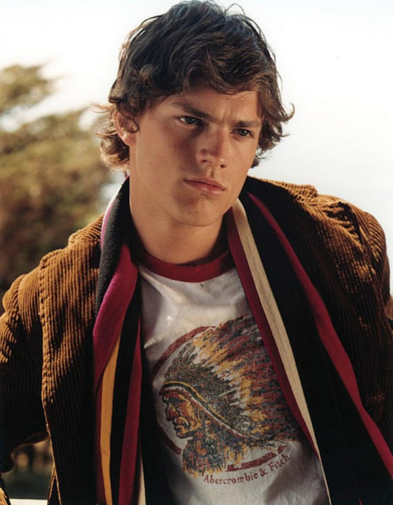 Before Fifty Shades of Grey and in 2001, a barely recognizable Jamie Dornan posed for a fall outing with Abercrombie & Fitch.