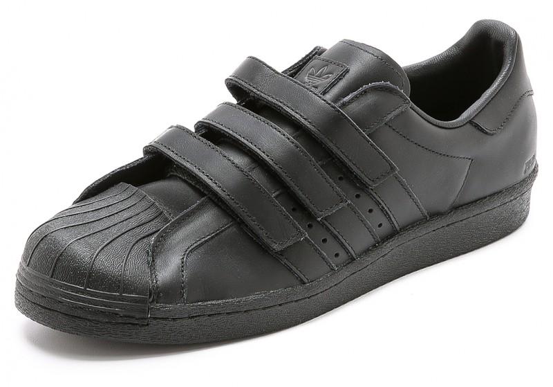Adidas x JUUN.J Superstar 80s Sneakers in Black