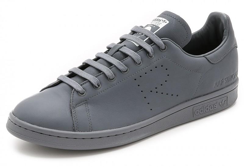 Adidas x Raf Simons Stan Smith Sneakers in White/Onix