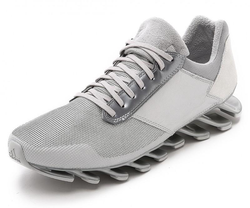 Adidas x Rick Owens Springblade Sneakers in Silver Mesh