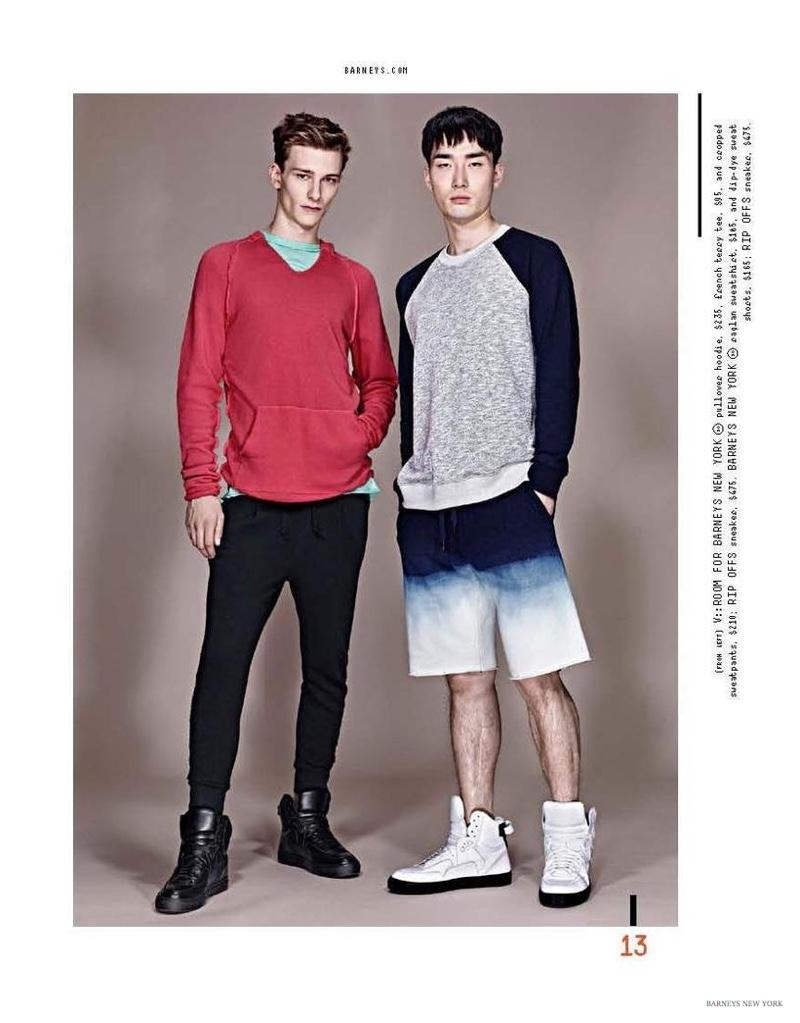 Barneys New York Unveils Spring 2015 Men's Sportswear