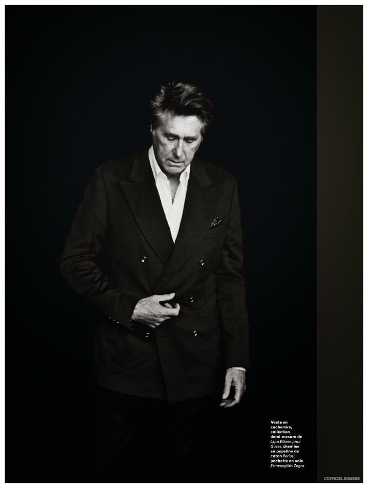 Bryan Ferry For L Officiel Hommes 2015 Photo Shoot