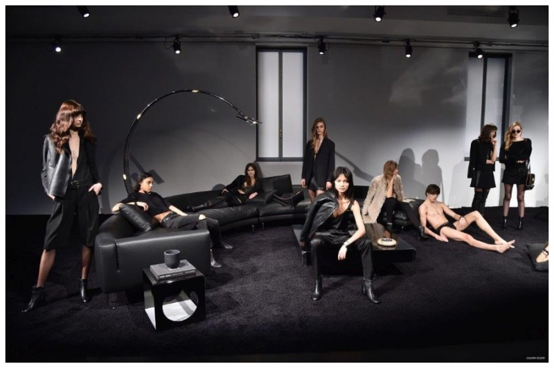 Back to Black: Calvin Klein goes dark for fall with minimal, modern designs in black.