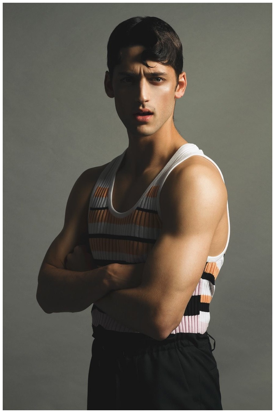 Carlos Ferra is Restless for DIF Magazine Shoot