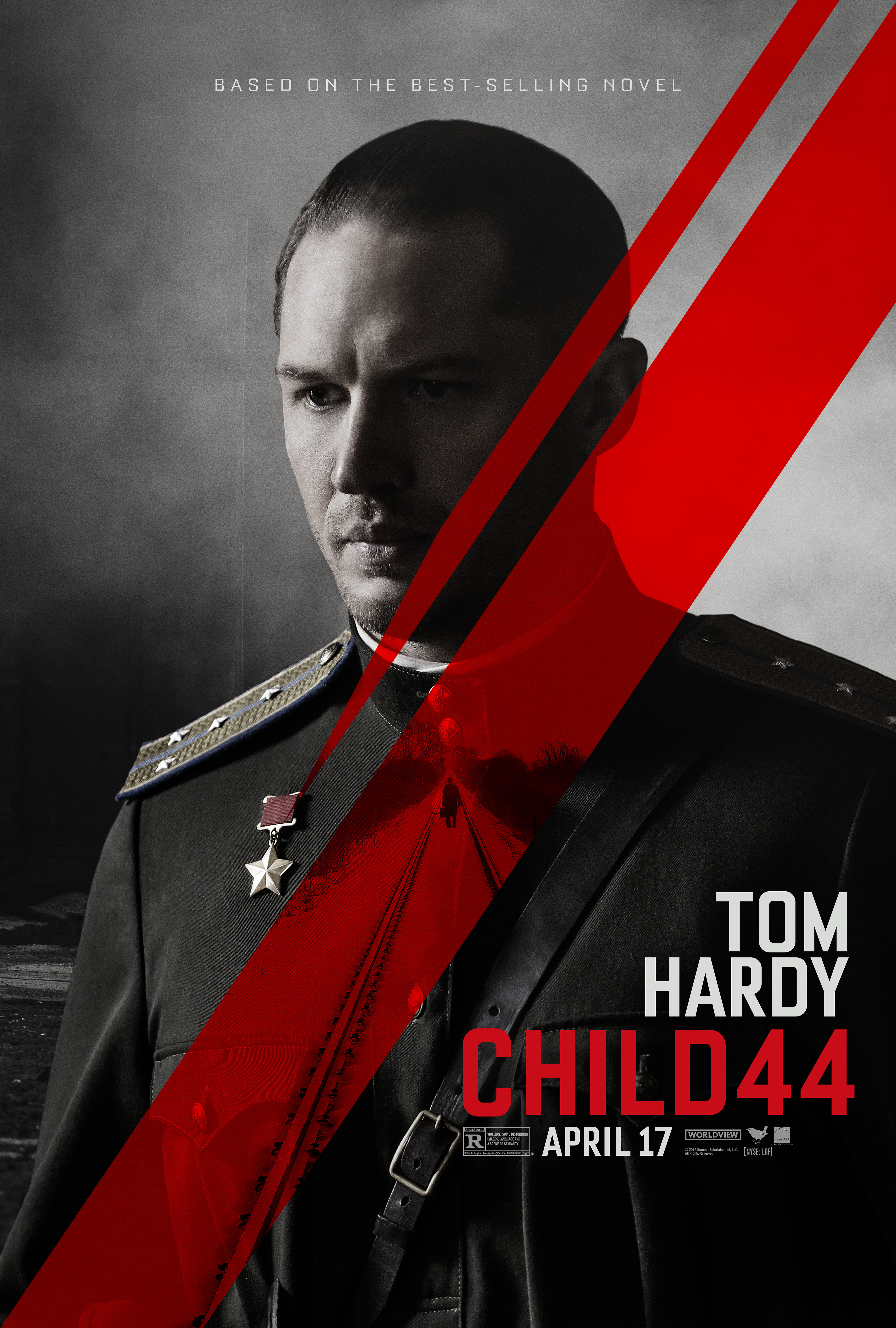 Child 44 Movie Posters Featuring Tom Hardy + Gary Oldman