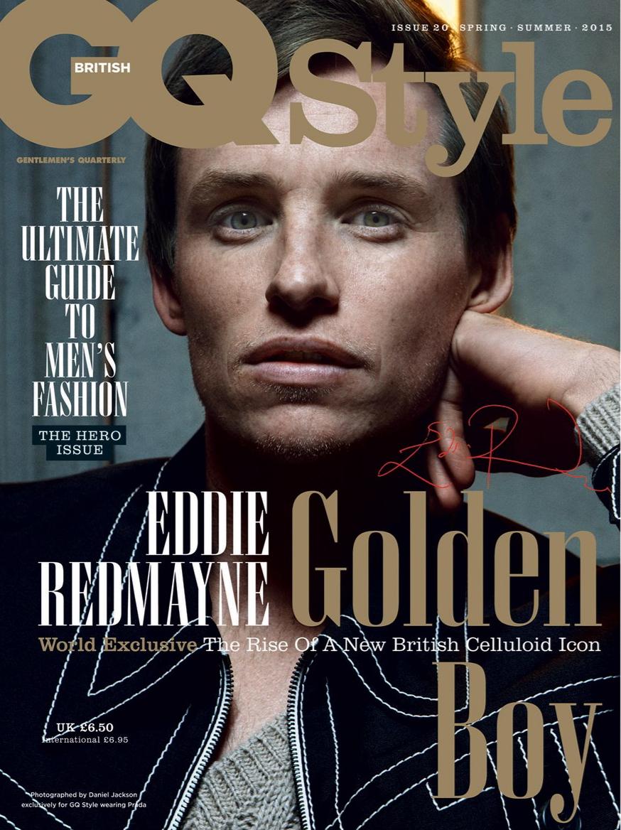 Eddie Redmayne Lands 2 New Covers