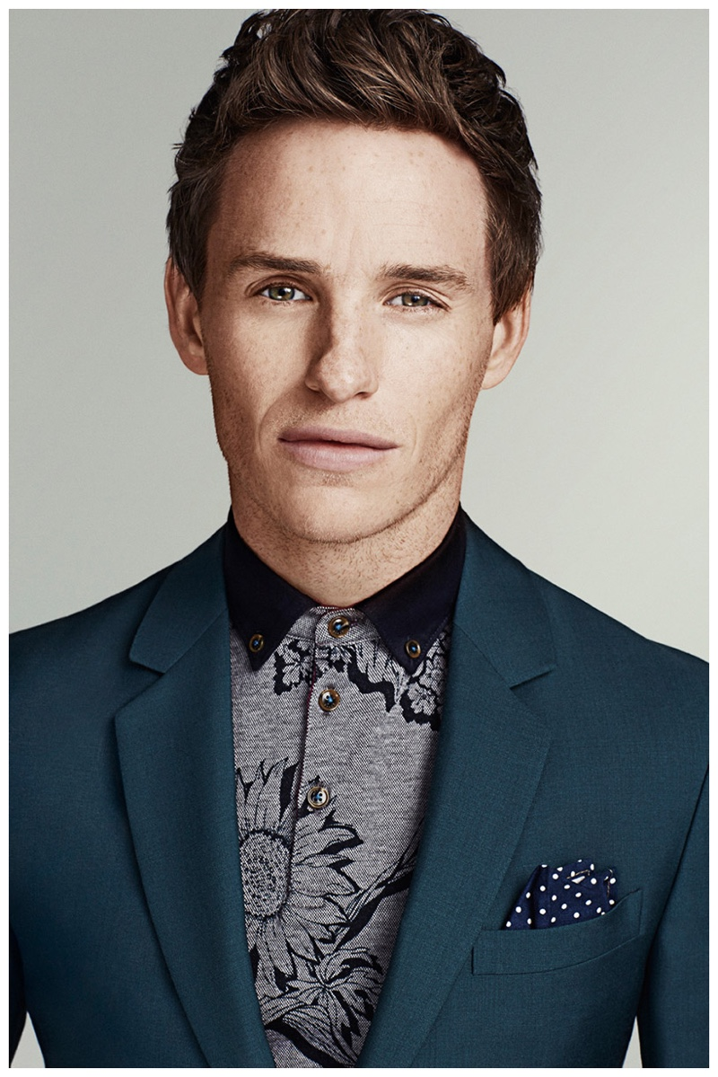 Eddie Redmayne stars in a stylish shoot for the March 2015 issue of Men's Health.