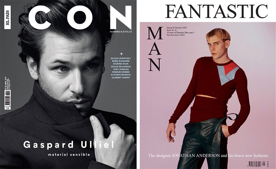 Covers: Jonathan Anderson for Fantastic Man, Gaspard Ulliel for Icon + More