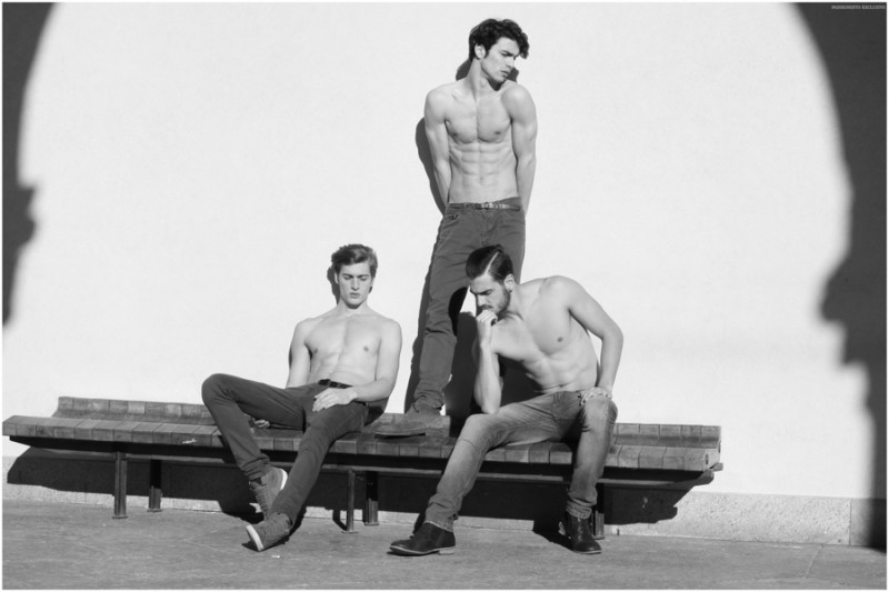 Left to Right: Vincenzo Amato, Alfonso Troyano, Caio Medeiros
