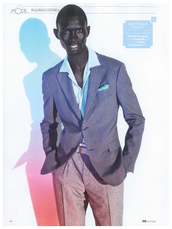 Fernando Cabral Dons Spring Suits for GQ France