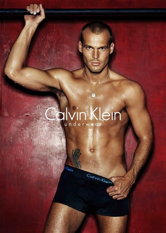 Footballer Karl Frederik 'Freddie' Ljungberg kicked off his advertising relationship with Calvin Klein Underwear in 2005.