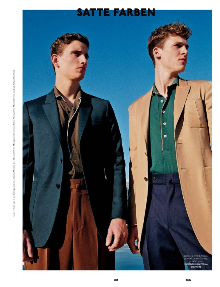 GQ Style Germany Goes Eclectic