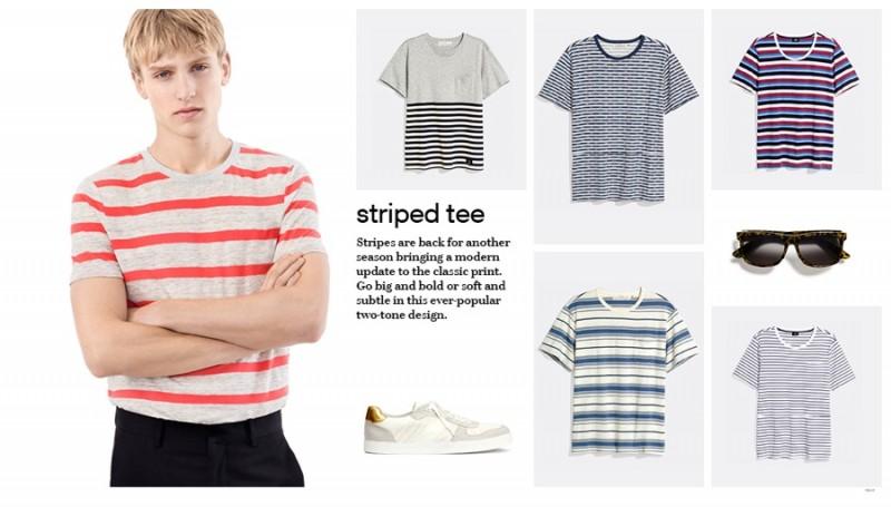 H&M Striped Tees