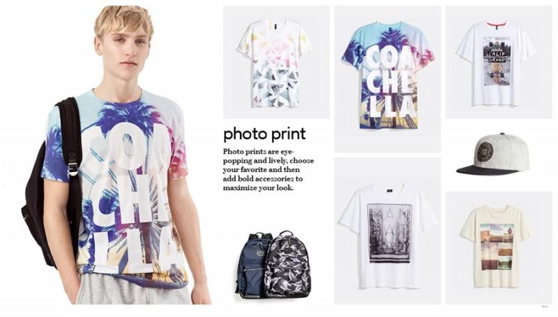 H&M Photo Print T-Shirts