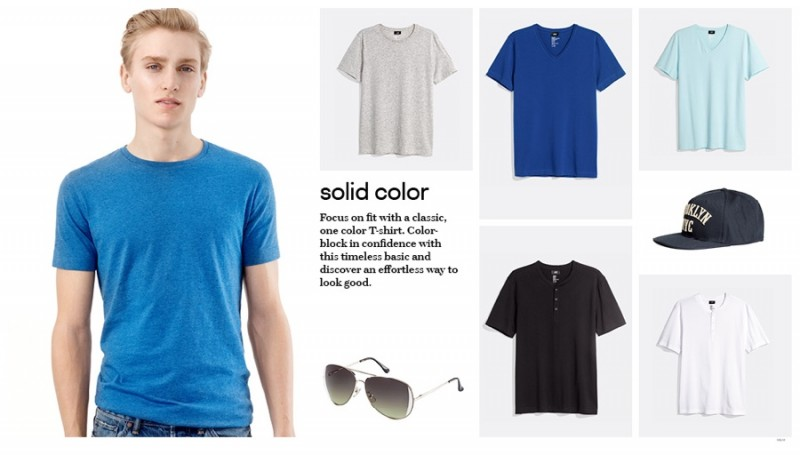 H&M Solid Color T-Shirts