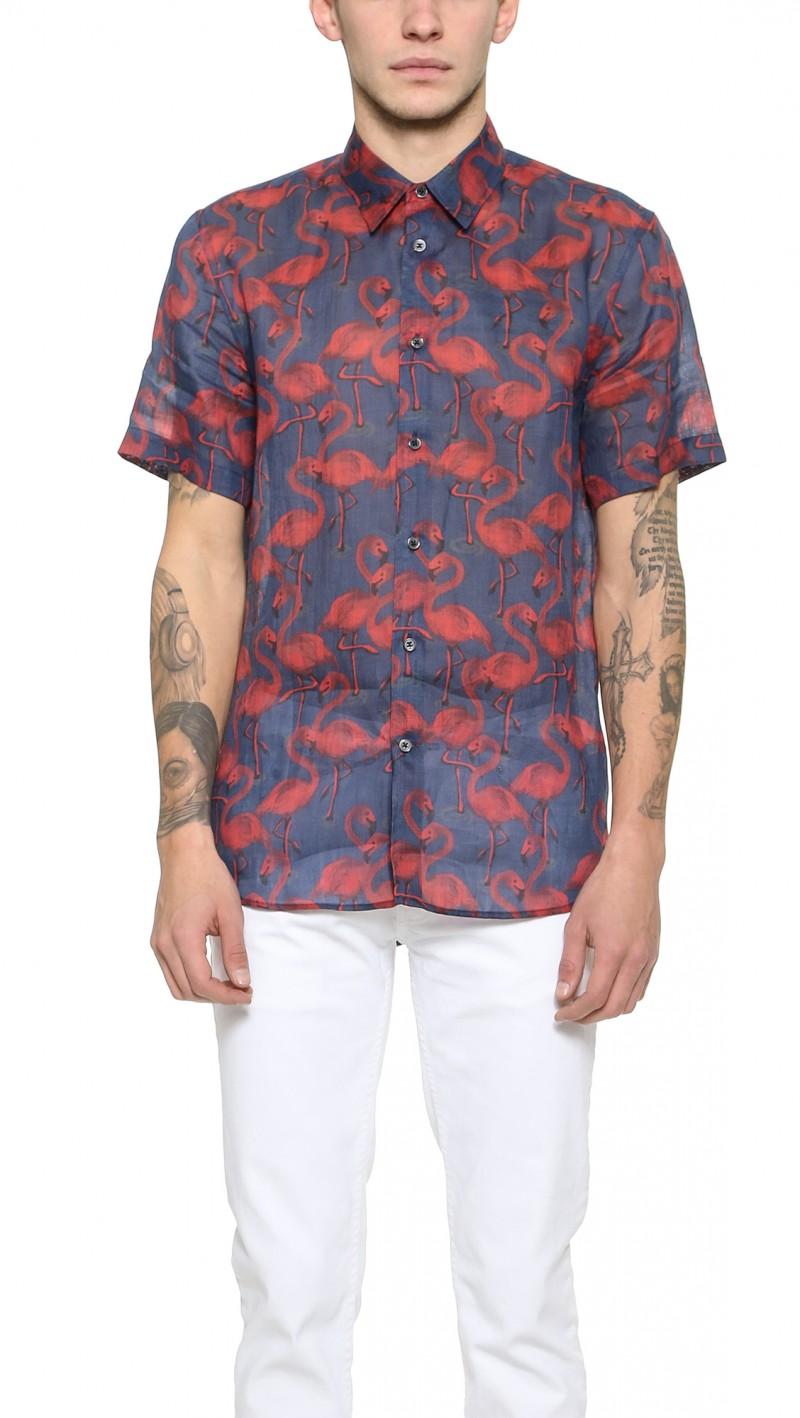 Marc Jacobs Flamingo Shirt