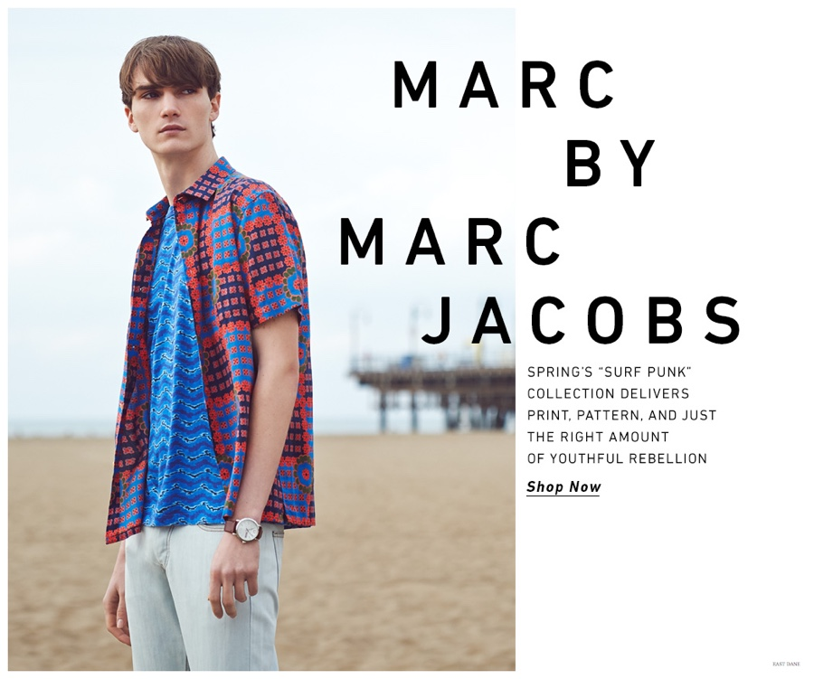 Marc by Marc Jacobs is Taken to the Beach