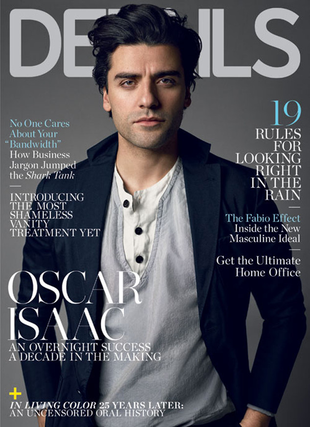 Covers! Giorgio Armani For Forbes, Oscar Isaac For Details