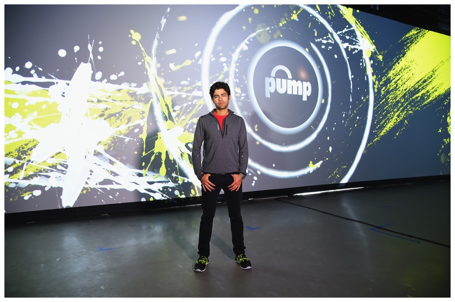 Adrian Grenier Celebrates Reebok's ZPump Fusion Sneaker