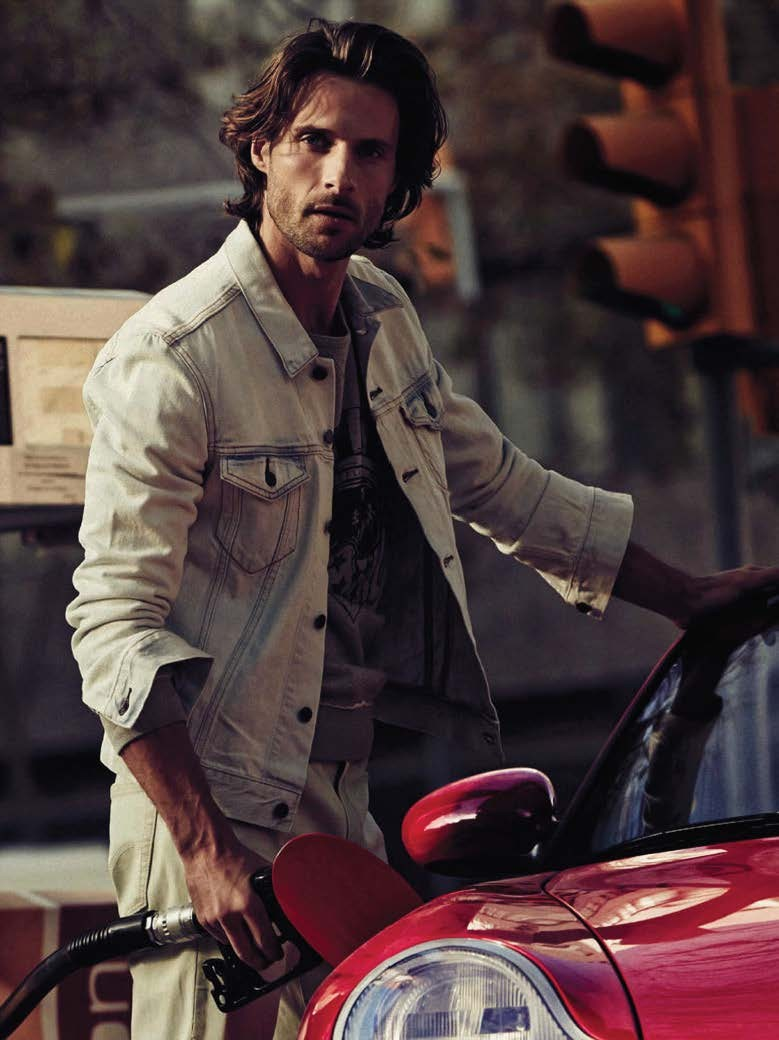 In the City: Tommy Dunn Sports Denim for GQ España