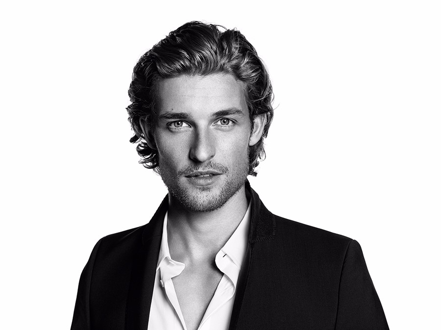 Wouter Peelen by Paola Kudacki for Vichy Homme Campaign