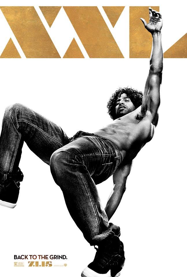 Adam Rodriguez 'Magic Mike XXL' Poster Unveiled