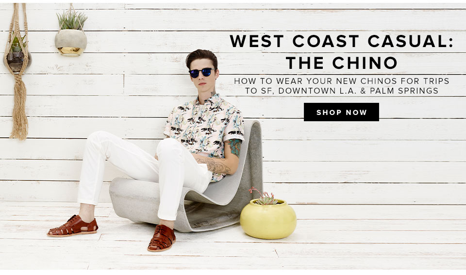 Ash Stymest Shows Us How to Wear Chinos