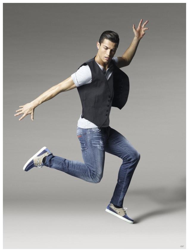 Cristiano Ronaldo Cr7 Spring Summer 2015 Footwear Campaign