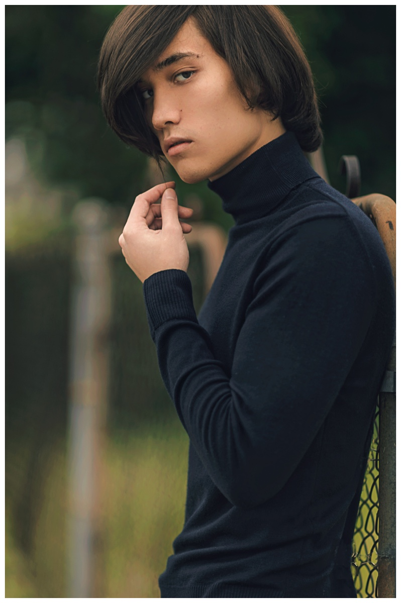 Daniel Karikomi Steps Out In Tommy Wu Shoot The Fashionisto