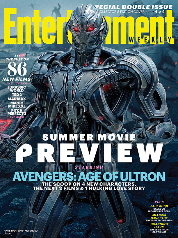 Ultron covers Entertainment Weekly