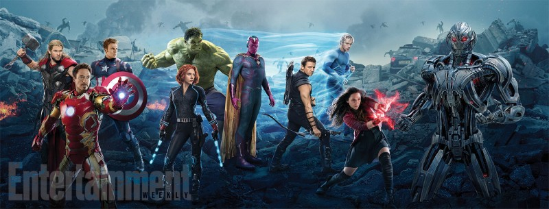 Avengers: Age of Ultron one-sheet.