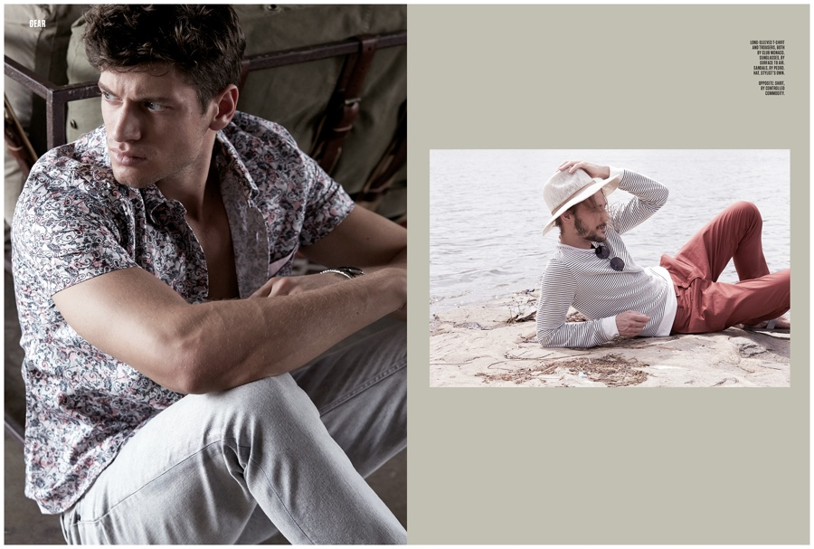 Andrej & Viktor Do Refined Leisure for FHM Singapore