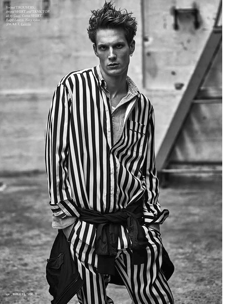 Felix Gesnouin Models Gucci, Dries Van Noten + More for Hercules Universal