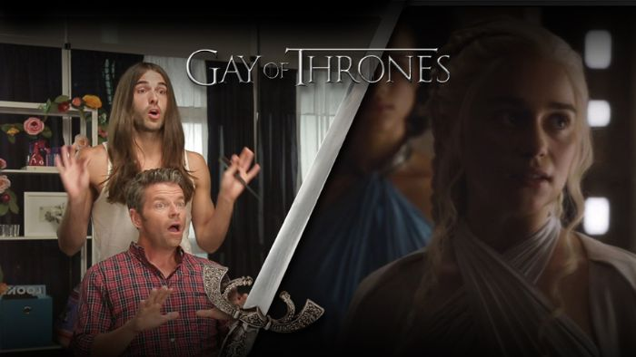 Catch Up with 'Game of Thrones' with 'Gay of Thrones'
