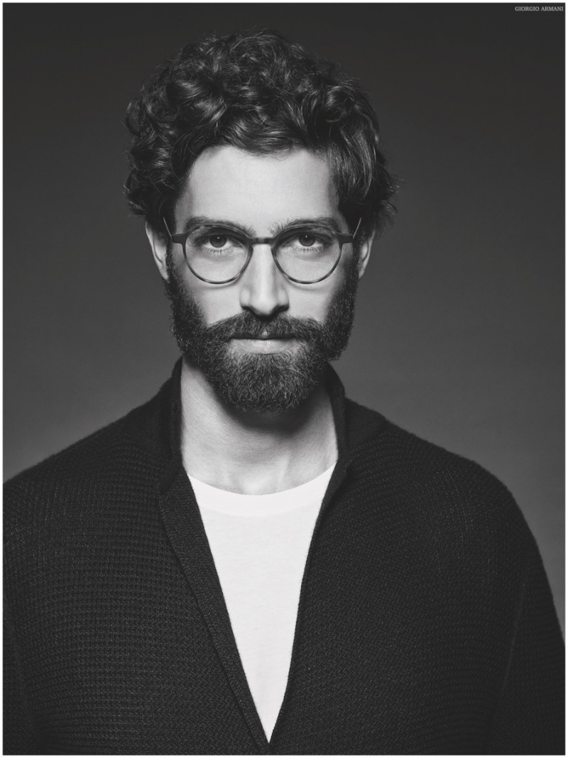 76130e60be Maximiliano Patane for Giorgio Armani Frames of Life 2015 Campaign