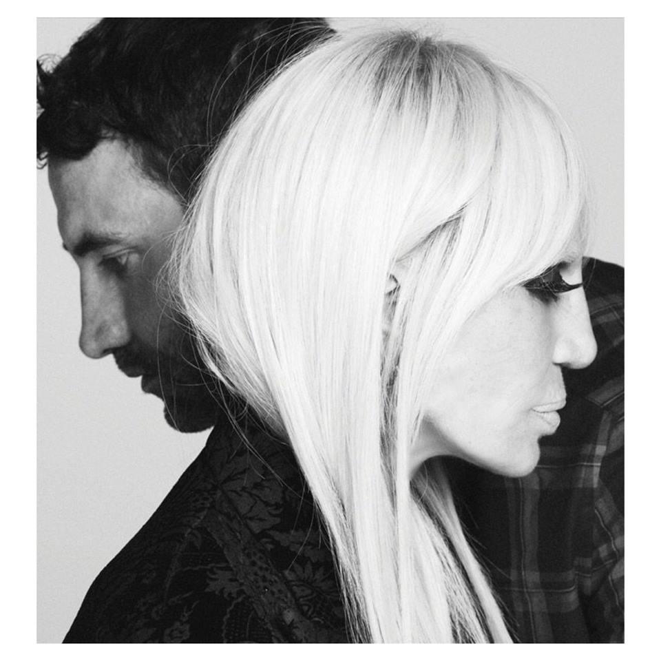 Givenchy Fall 2015 Campaign: Donatella Versace Joins Riccardo Tisci