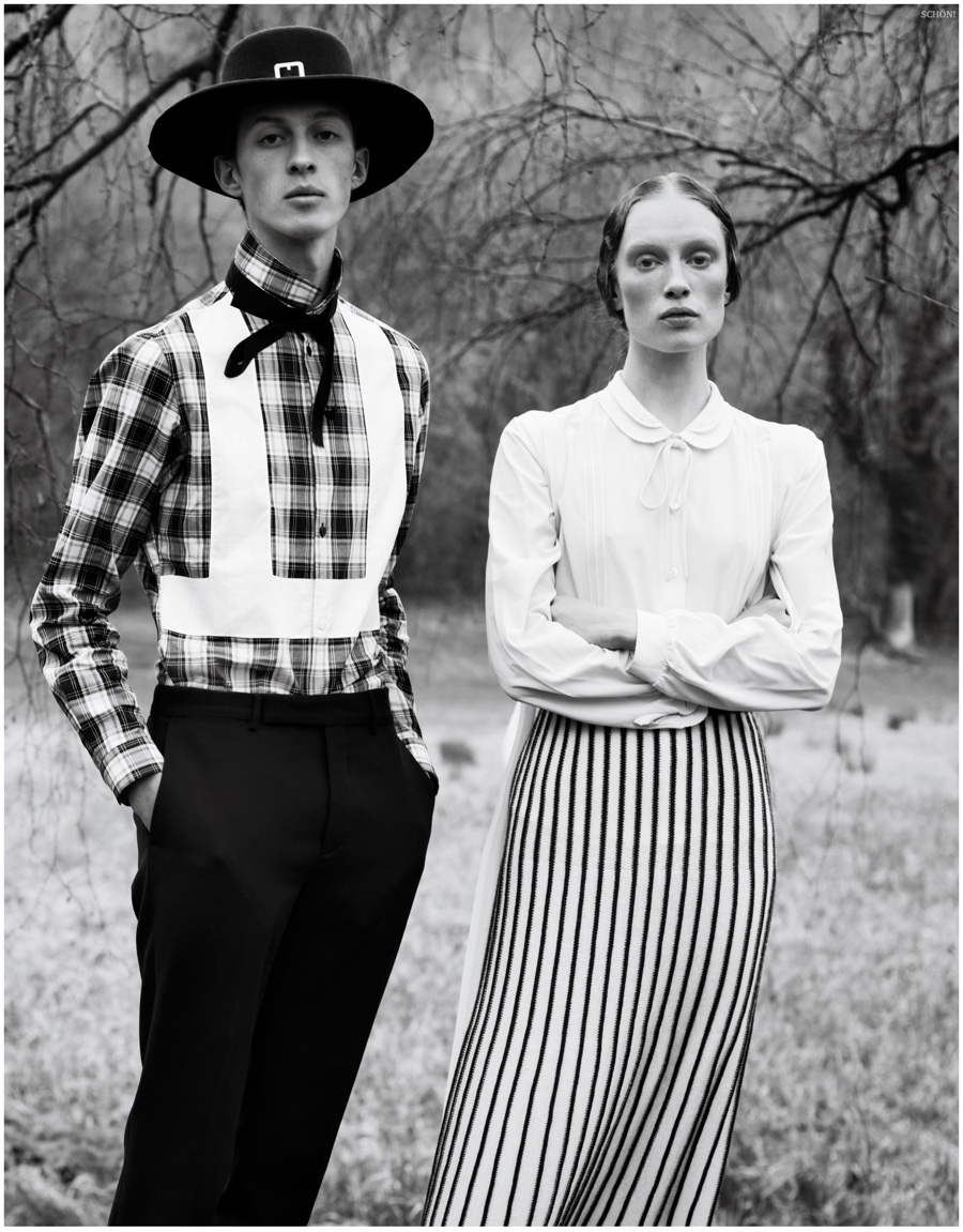 Jean Lemersre Embraces Amish Inspired Styles For Sch 246 N