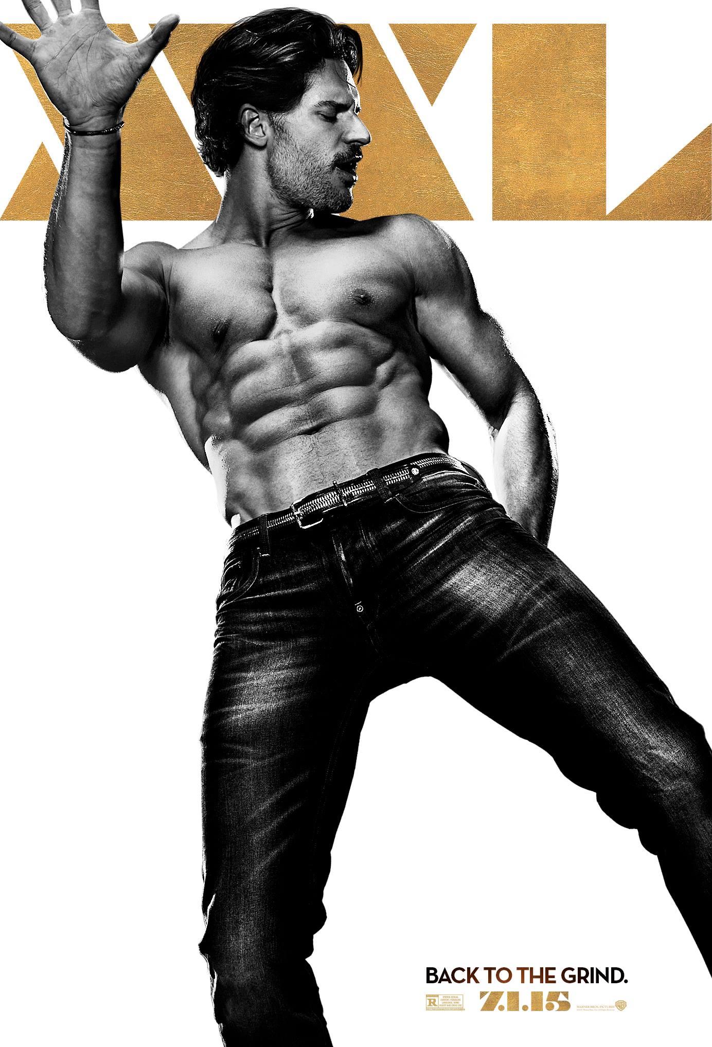 Joe Manganiello & Kevin Nash 'Magic Mike XXL' Posters Revealed