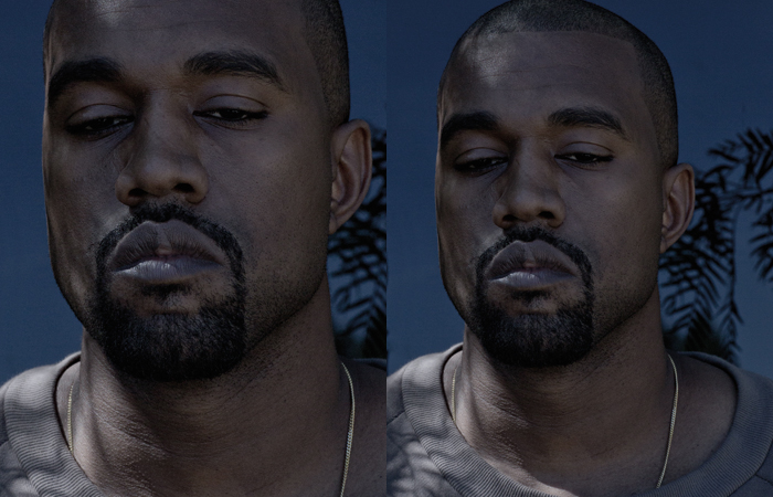 Kanye West photographed by Jackie Nickerson