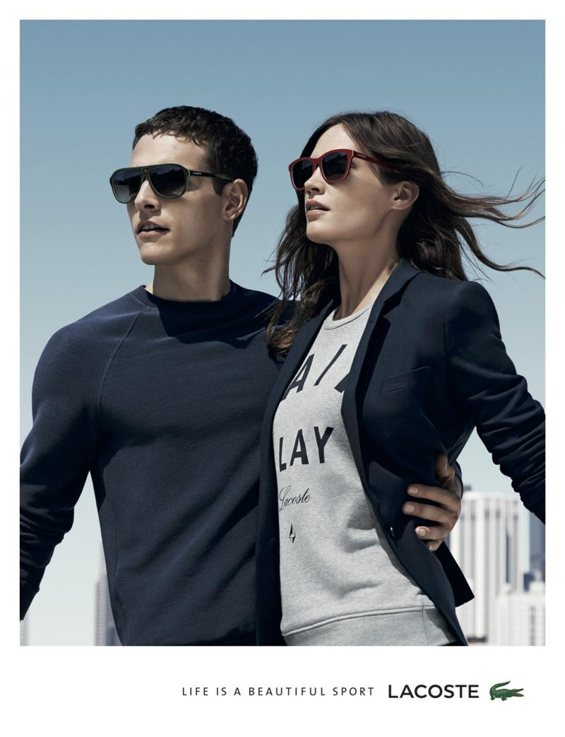 4bb95e0aab4 Alexandre Cunha Fronts Lacoste Spring Summer 2015 Campaign