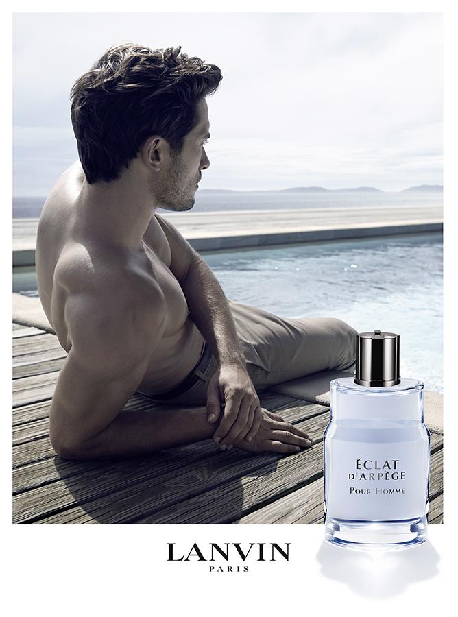 Lanvin Eclat d'Arpege Pour Homme Fragrance Campaign