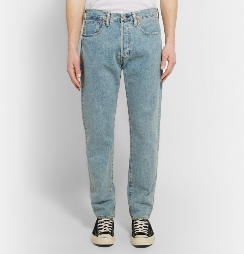 mr porter exclusive levi 39 s 501 ct jeans launch. Black Bedroom Furniture Sets. Home Design Ideas