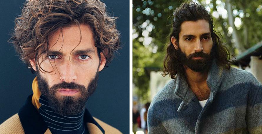 Model Wavy Hair: Maximiliano Patane