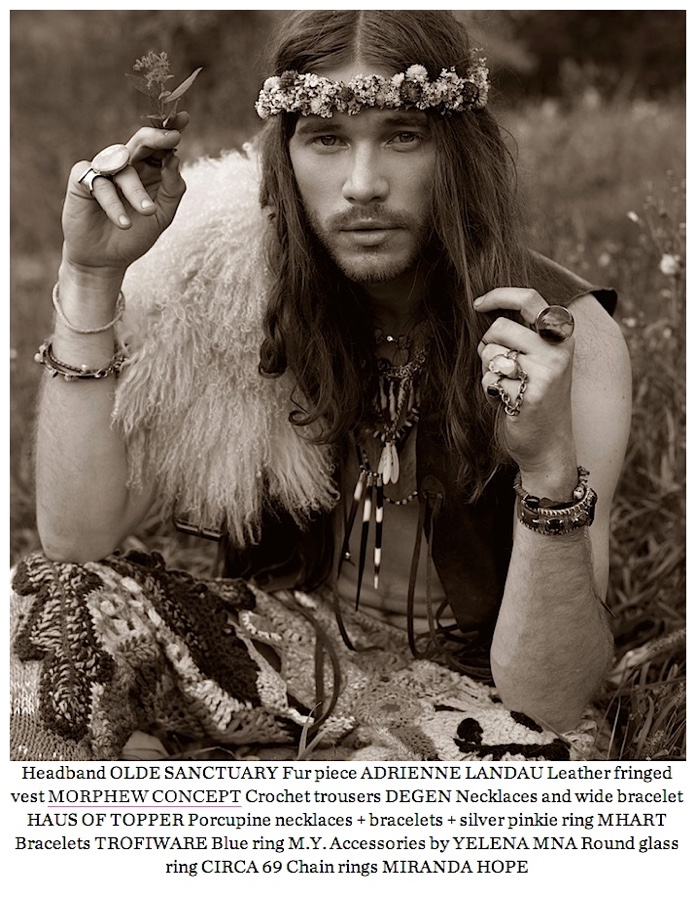 Zebedee Row Goes Bohemian for SPOOK Fashion Editorial