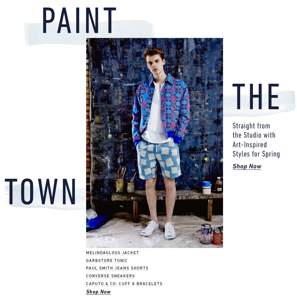 Art Inspired Styles Deliver Colorful Prints