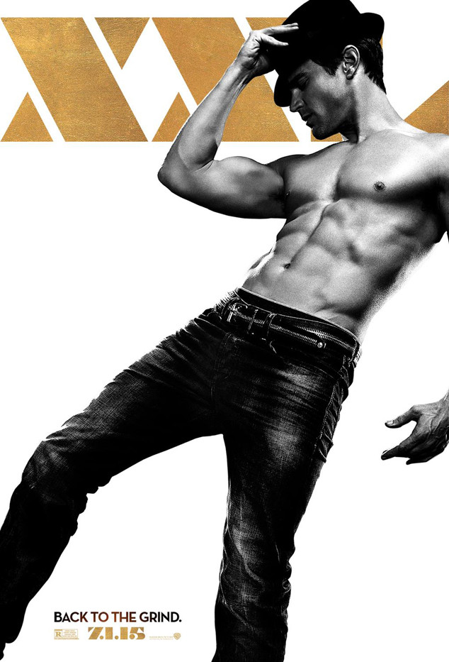 Matt Bomer + tWitch Strike a Pose for 'Magic Mike XXL' Posters