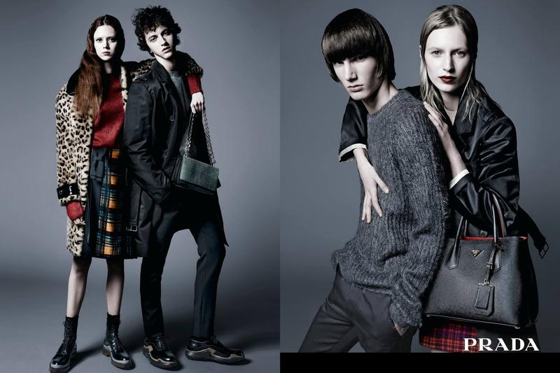 Prada Pre-Fall 2015 Campaign: A His 'n' Her Story