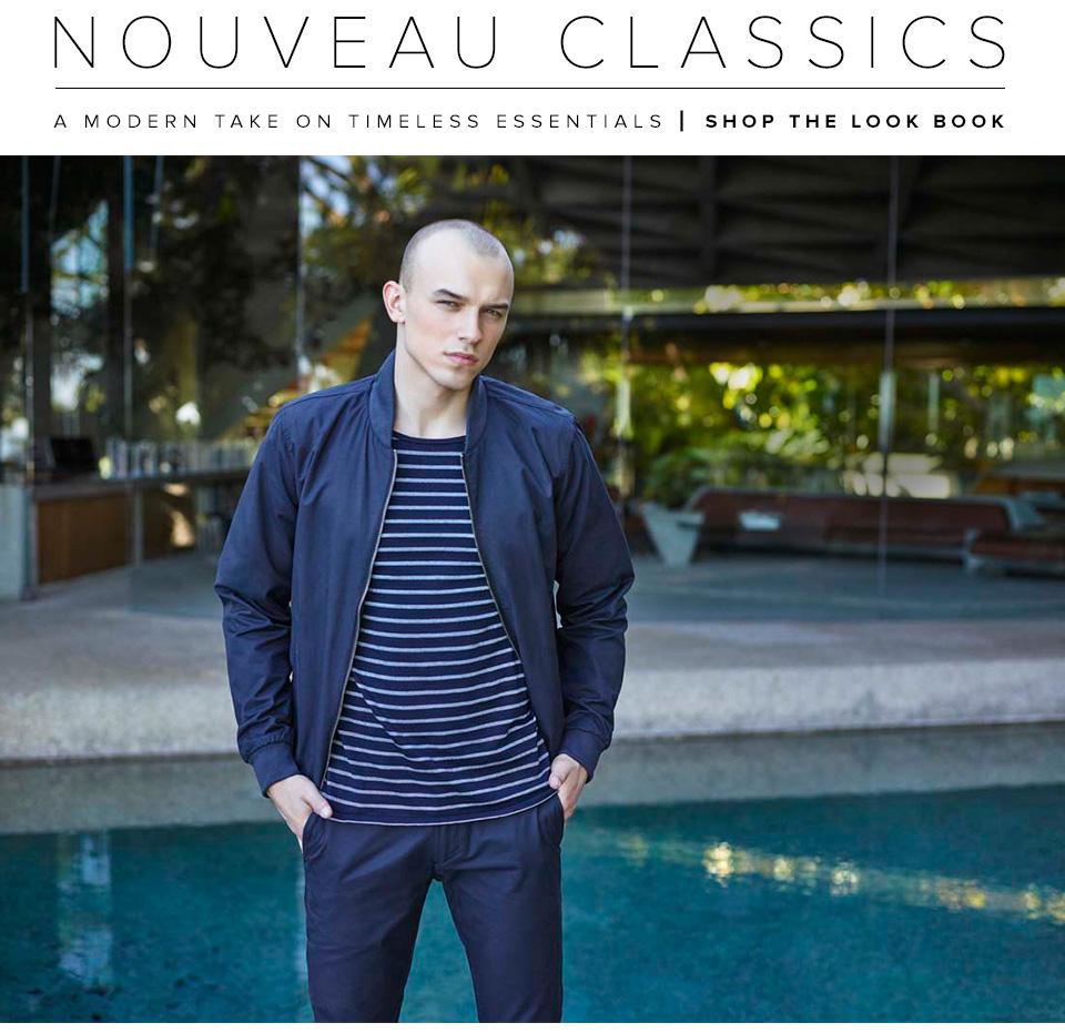 Revolve Goes Blue with Nouveau Classics Fashion Trend
