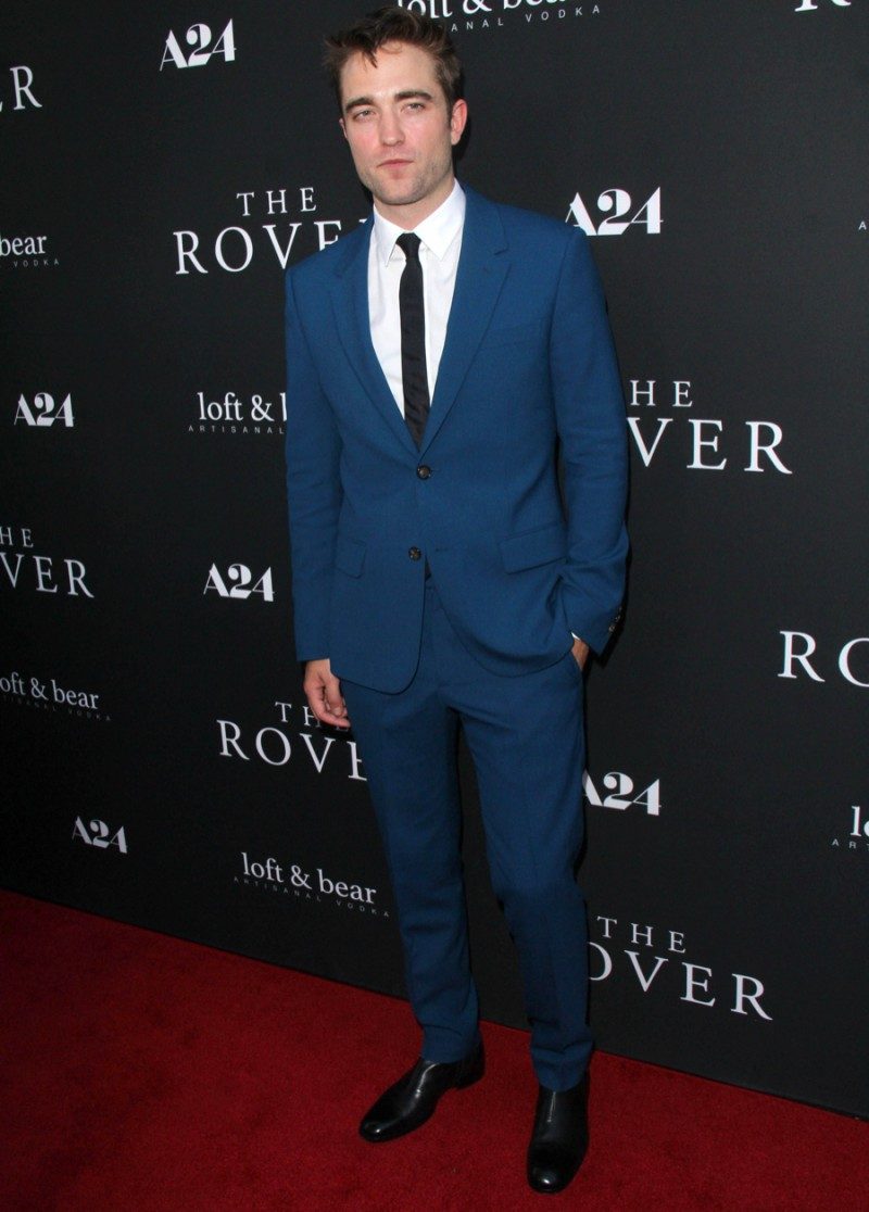 """Robert Pattinson at the """"The Rover"""" U.S. Premiere at Regal 14 Theaters on June 12, 2014 in Los Angeles, CA"""