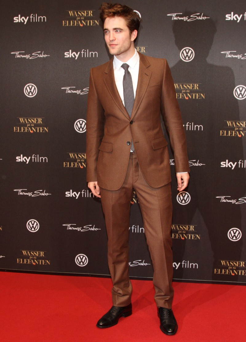Robert Pattinson attends the 'Water For Elephants' Germany premiere at CineStar on April 27, 2011 in Berlin, Germany.